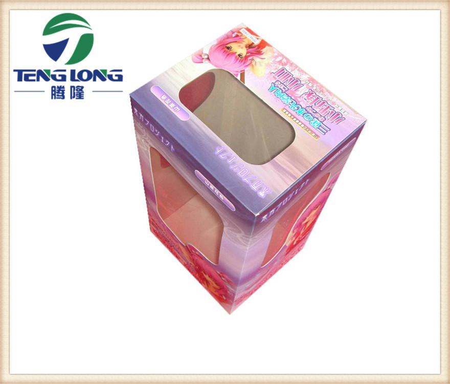 彩廠家直銷彩盒開窗口膠片 PET透明片材 窗口貼合機專用卷材 3