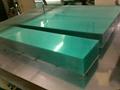 半透明防刮花PET卷材 藍色防刮花PET膠片 顏色和厚度可定製 3
