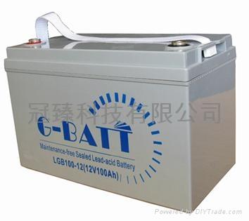 12V100AH鉛酸蓄電池 1
