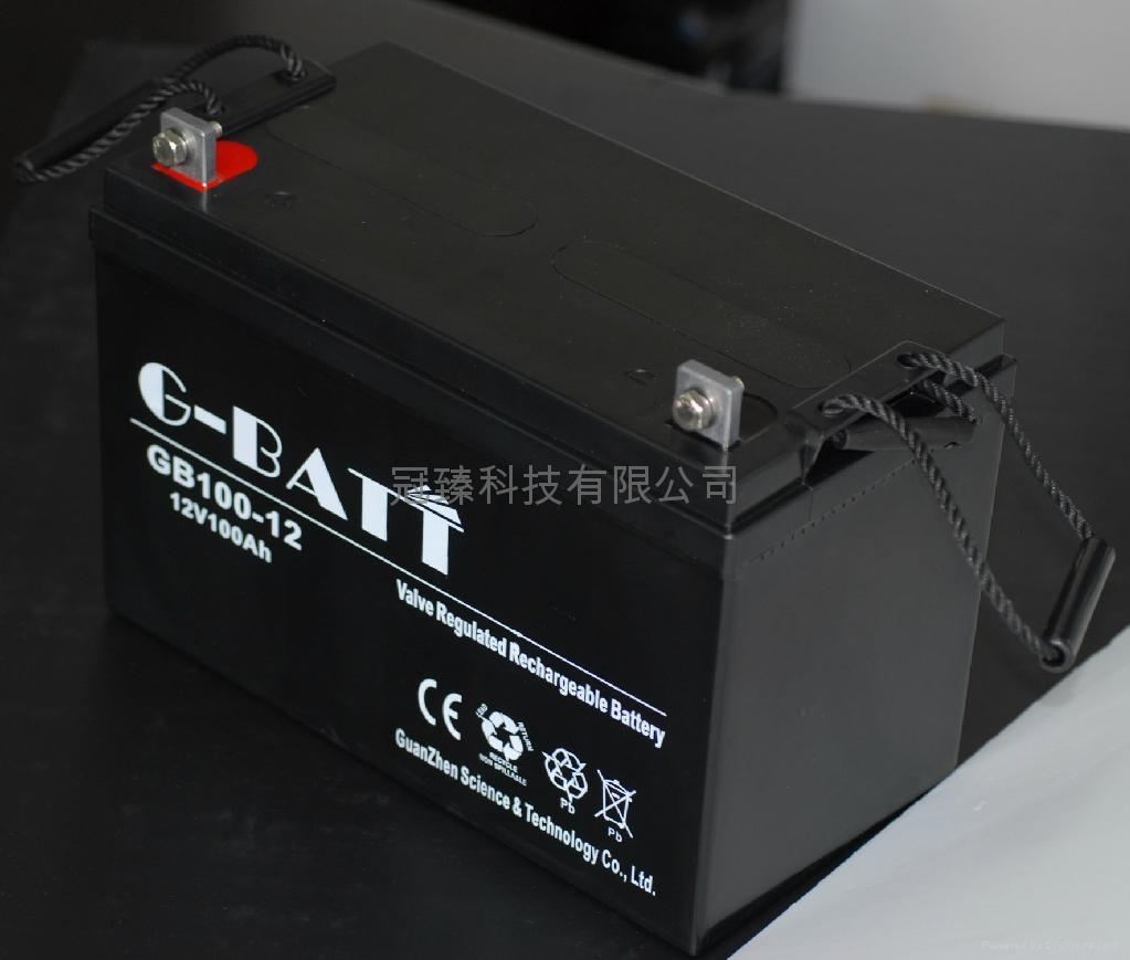 12V100AH鉛酸蓄電池 3