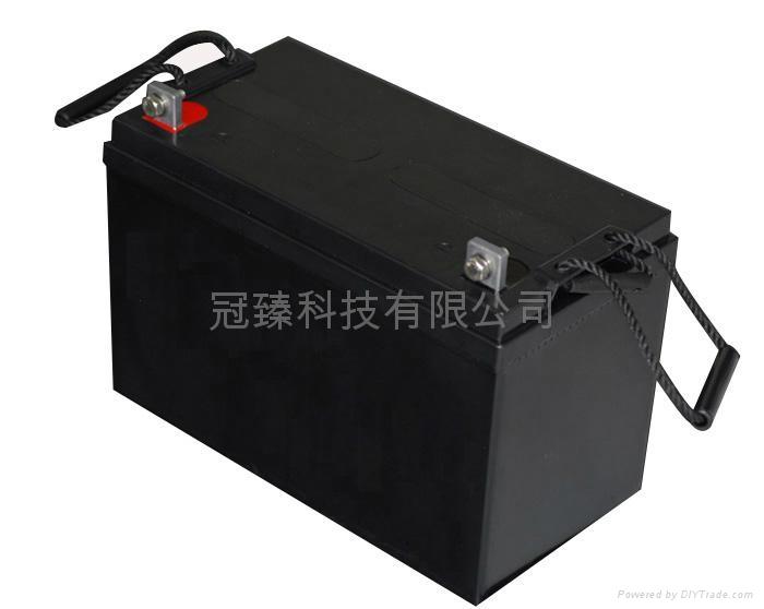 12V100AH铅酸蓄电池 4