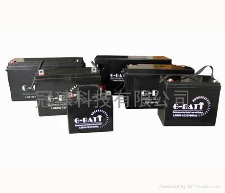 12V100AH鉛酸蓄電池 5