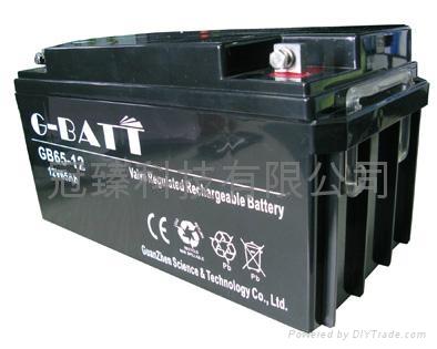 12V65AH免维护铅酸蓄电池 4