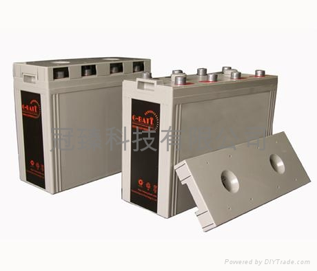 2V系列太陽能電池鉛酸蓄電池 1