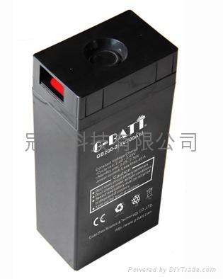 2V系列太阳能电池铅酸蓄电池 2