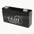 6V7AH鉛酸蓄電池  童車專用 2