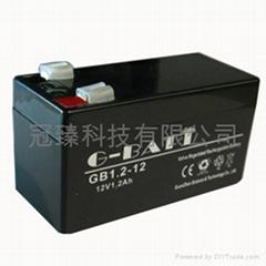 玩具车应急灯用铅酸蓄电池12V1.3AH