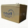 免维护有源音响铅酸电池12V12AH 2