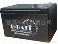 免维护有源音响铅酸电池12V12AH 3