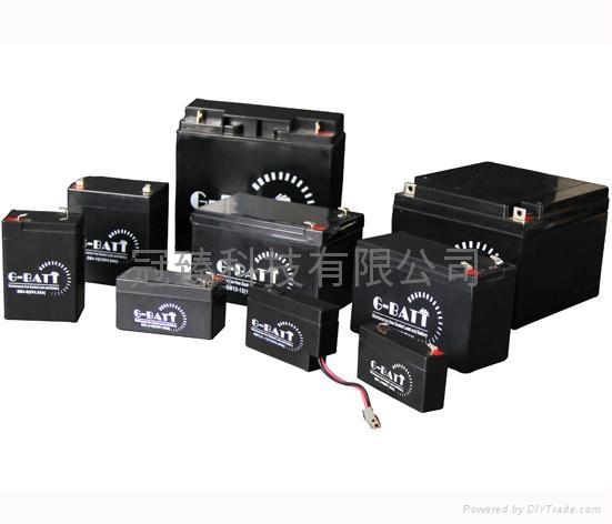 免維護有源音響鉛酸電池12V12AH 4