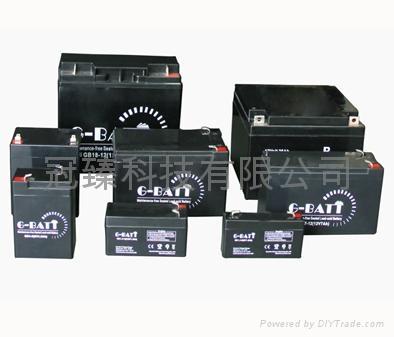 免維護有源音響鉛酸電池12V12AH 5