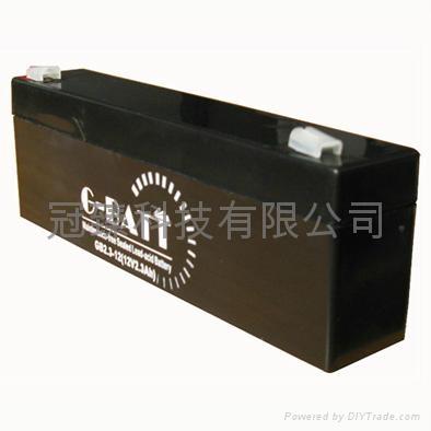 GB12V2.3AH鉛酸蓄電池 1