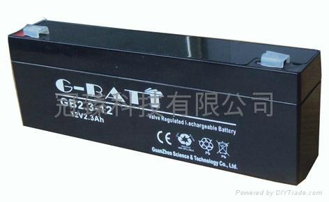 GB12V2.3AH鉛酸蓄電池 3