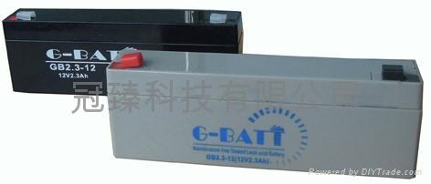 GB12V2.3AH鉛酸蓄電池 4