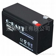 12V9AH 安防有源音箱照明电动工具用电池