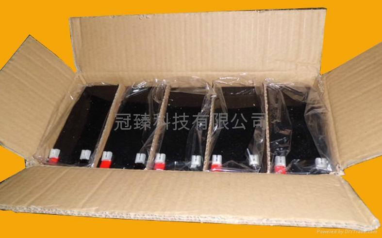 12V9AH 安防有源音箱照明電動工具用電池 4