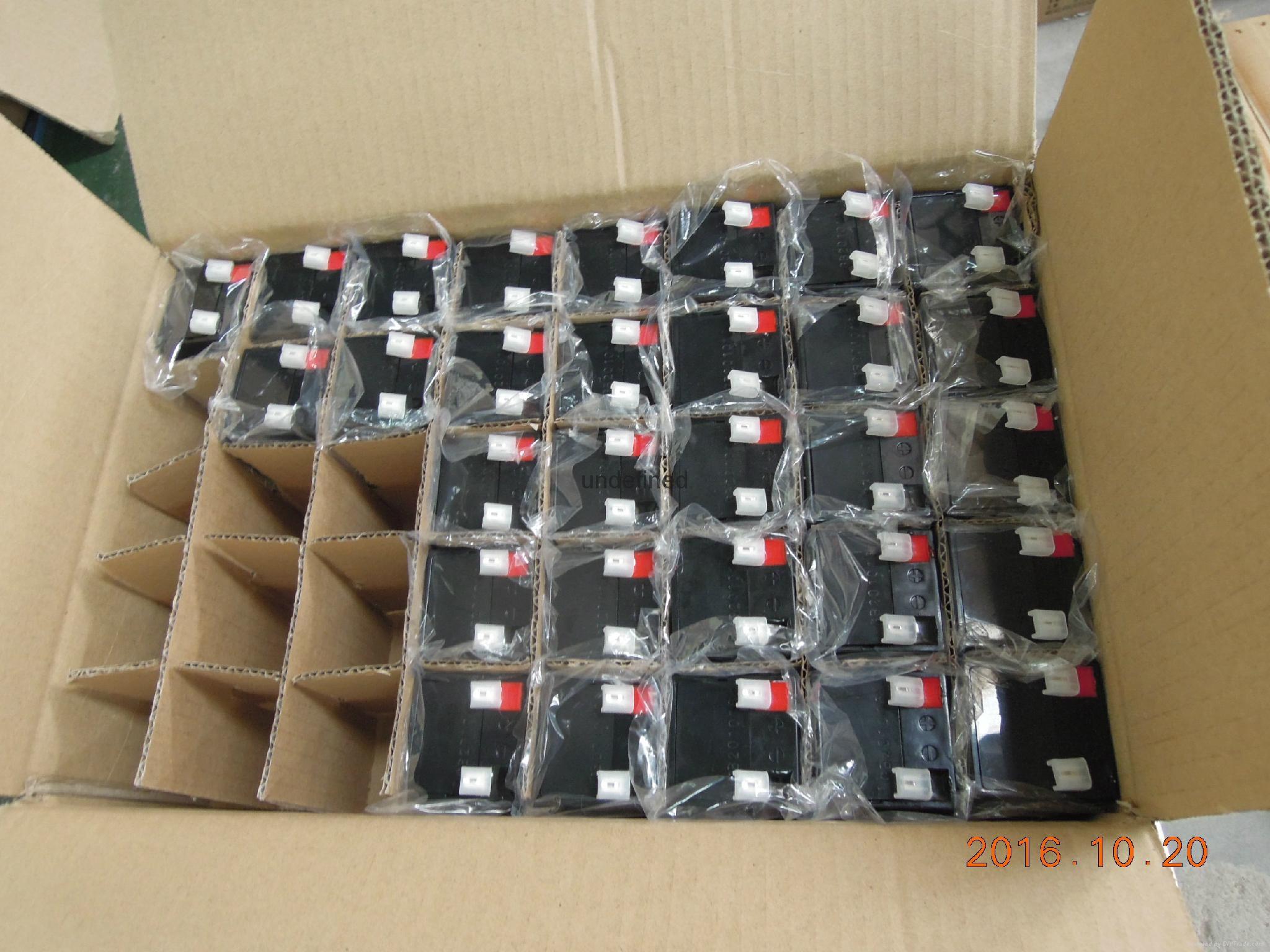 4V4Ah LED灯用铅酸蓄电池 5
