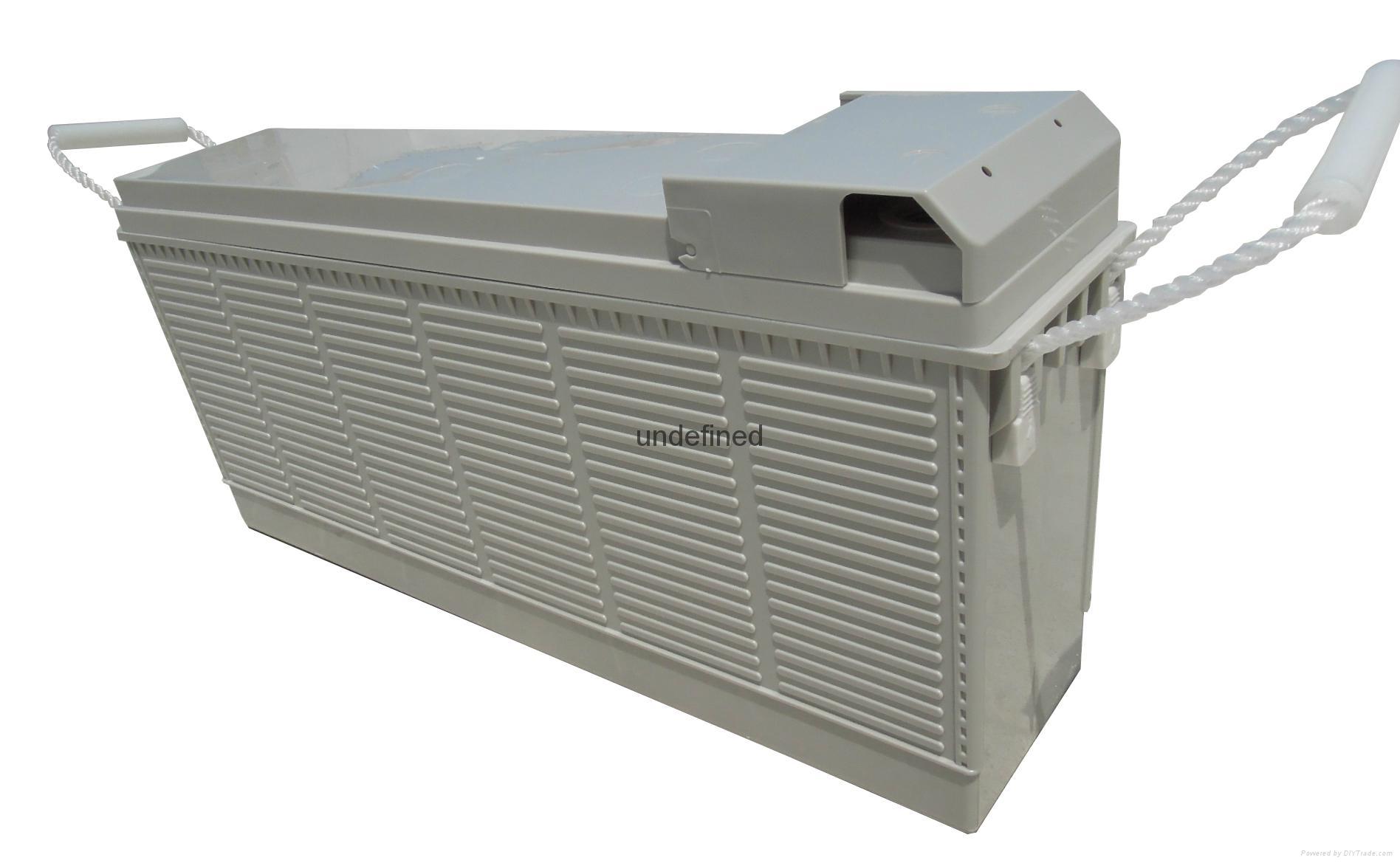 12V100AH 前置端子蓄电池 1