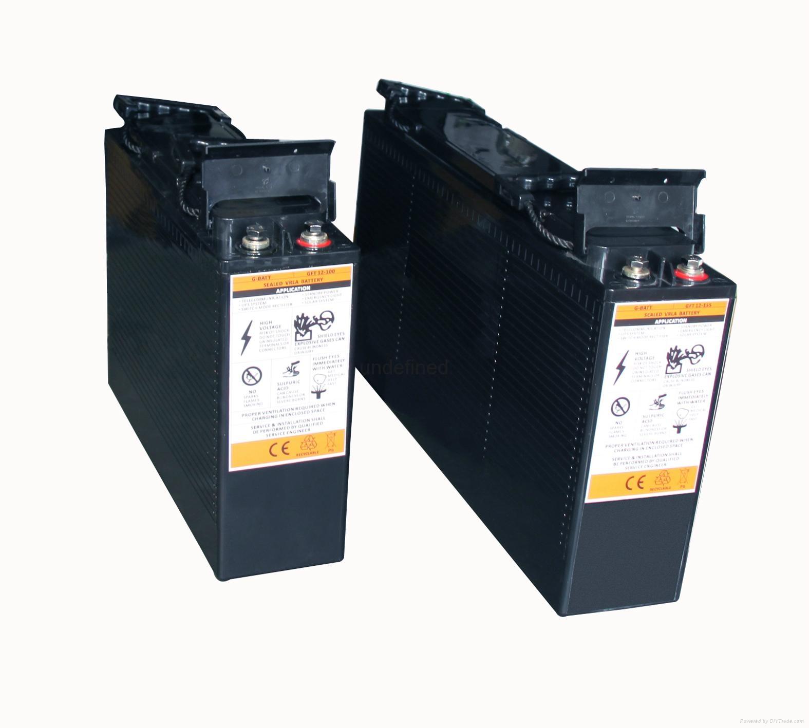 12V100AH 前置端子蓄电池 3