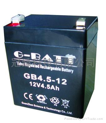 12V4.5AH有源音箱照明電源用鉛酸蓄電池 1