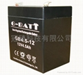 12V4.5AH有源音箱照明電源用鉛酸蓄電池 2