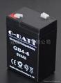 6V4AH 應急燈玩具車電子稱用蓄電池 5