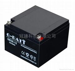 12V24AH UPS鉛酸蓄電池