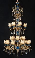 定製別墅豪華客廳歐式吊燈