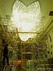 廠家供應酒店大堂水晶燈