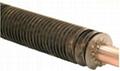 Spiral fin tube/ Tubo de aleta espiral/ Spirale tubo di aletta