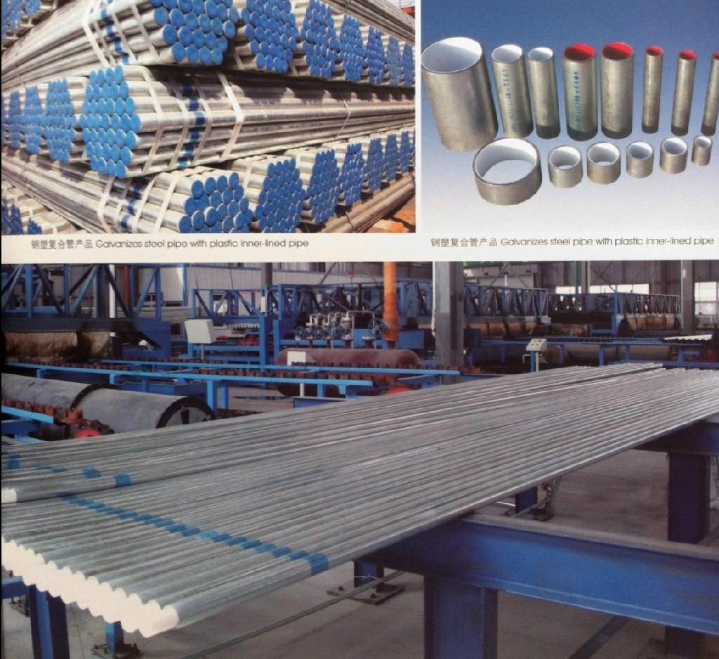 Galvanized and plastic inner pipe/ Tubo interior galvanizado y plástico 1
