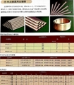 Copper and copper alloy tube bar rod