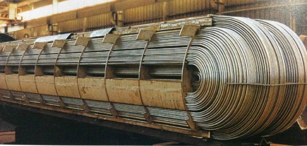 U shape stainless steel pipe/ Tubería de acero en forma de U