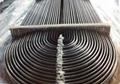 U shape steel pipe/U forma de tubo de acero/U forma de tubos de aço