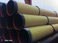 Yellow jacket coating pipe/ Amarillo