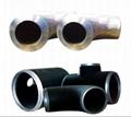Carbon steel pipe fitting/ Tubería de