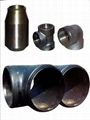 Carbon steel pipe fitting/ Tubería de acero al carbono apropiado