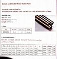 Nickel alloy seamless tube/ Aleación de níquel tubo sin soldadura