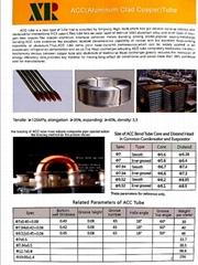 Aluminum clad copper tube and Copper clad aluminum tube