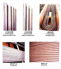 Small diameter U-shape tube