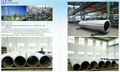 Big stainless steel seamless pipe/ Grandes tubos de acero inoxidable
