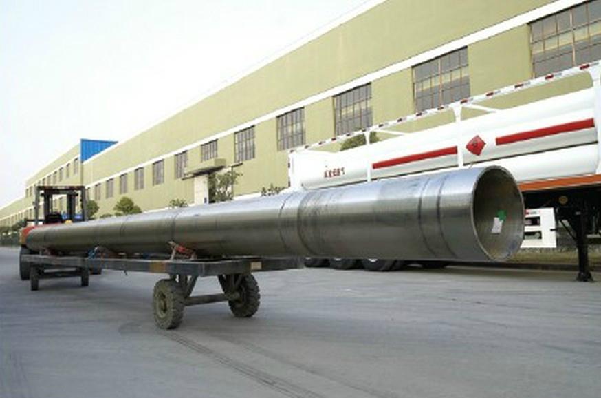 High pressure cylinders seamless pipe/ Tubería cilindros de alta presión 2