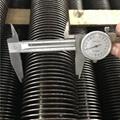 Finned tube for boiler and heat exchange