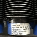 Finned tube for boiler