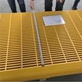 Fiberglass Reinforced Plastic (FRP) molded grating