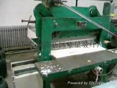 The glass fiber numerical control cuts short machine