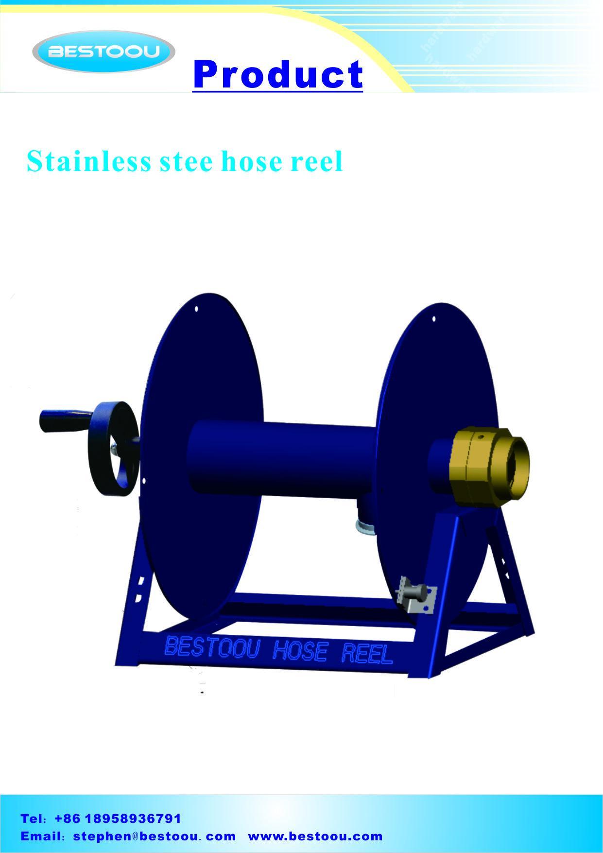 不鏽鋼工業用卷管器 3
