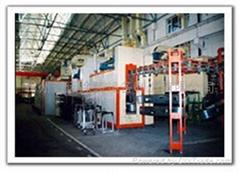 護欄、貨架噴漆(粉)烘乾線xytz-018