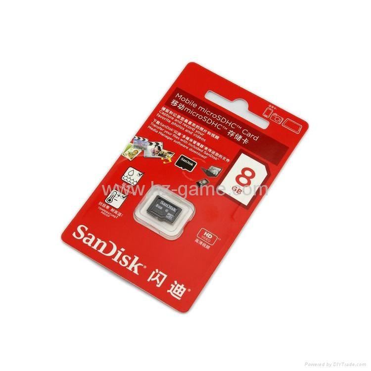 Kingston Micro SD TF memory Card 1GB 2GB 4GB 8GB 16GB 32GB 64gb 128gb 256gb 5