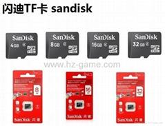 Sandisk/闪迪 16G 高速TF卡 CLASS10存储microSD卡 手机内存卡SD内存卡,TF内存卡